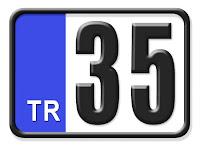 35 İzmir plaka kodu