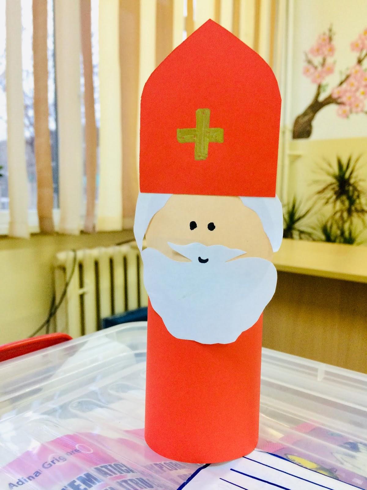 Figurină Moș Nicolae- cadou pentru copilașii mei