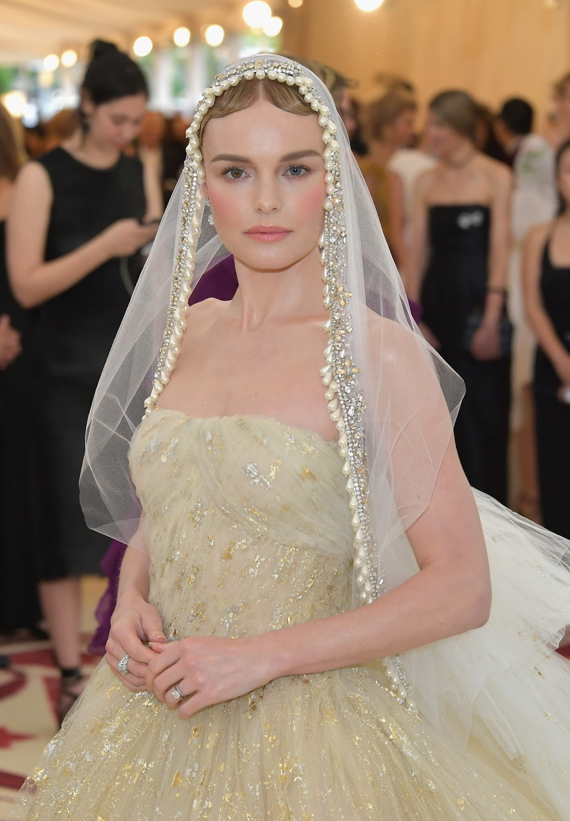 Kate Bosworth Met Gala Look Created By Beau Nelson Featuring Chantecaille