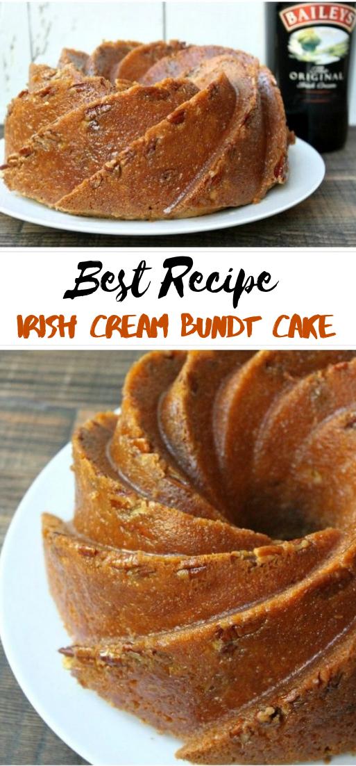 Irish Cream Bundt Cake #desserts #cakerecipe