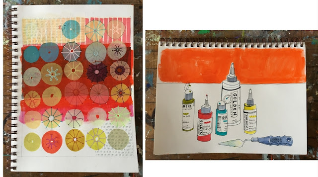 Naomi Taitz Duffy, Sketchbooks, Sketchbook Conversations, Artists, Inspiration, My Giant Strawberry