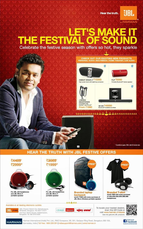 Jbl Paper Ad Contest Harman India