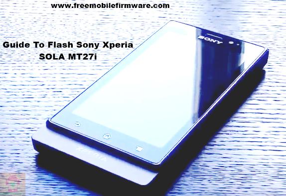 Sony Xperia SOLA MT27i Ice Cream Sandwich 4.0.4 Tested Firmware