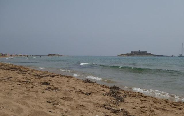 la spiaggia dell'isola delle correnti