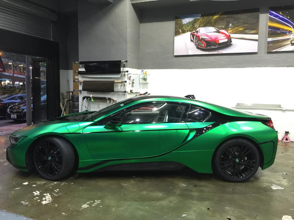 Matte Green Chrome Bmw I8 Is On The Money