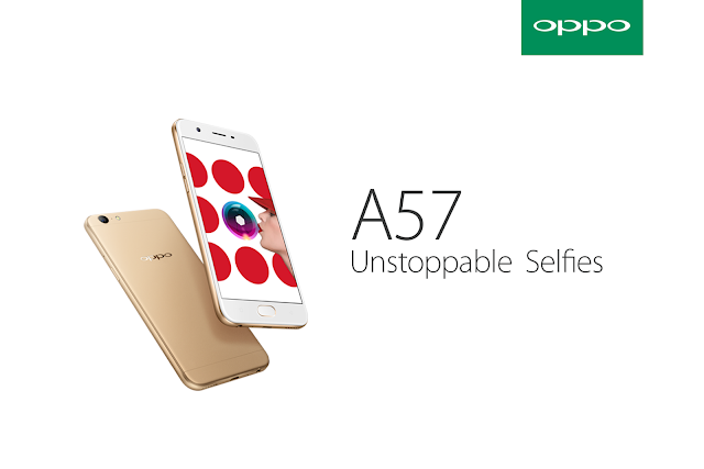 Review Smartphone Oppo A57