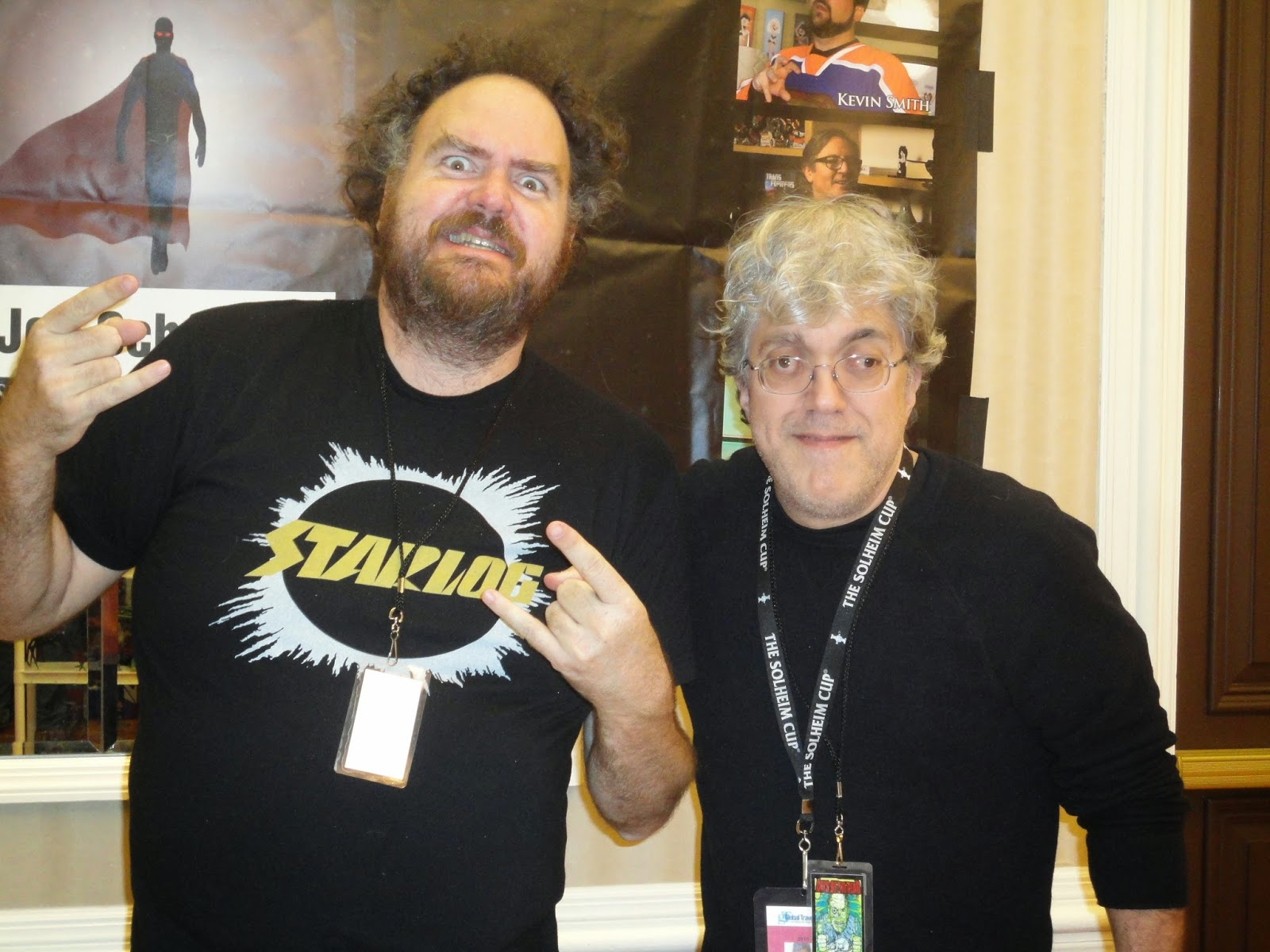 Jon Schnepp And Me In Indianapolis In February