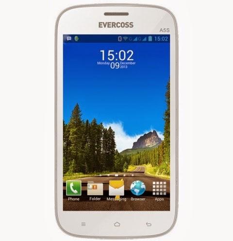 Evercoss A5S, HP Android Harga Rp700 Ribuan bisa BBM