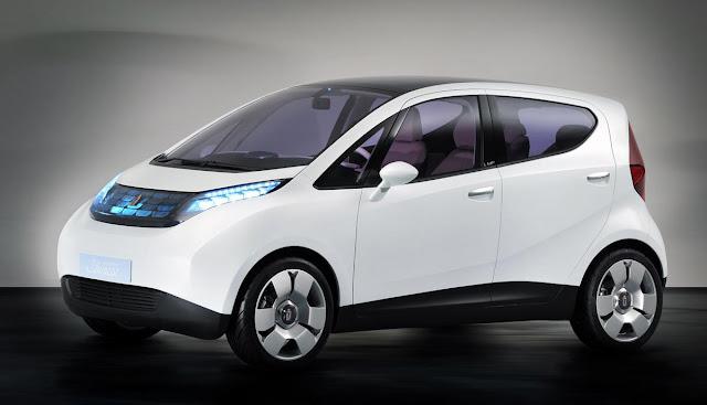 Das Auto, das Frankreich erobert hat ist ein Elektroauto.