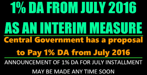 DA from July 2016 as an interim Measure