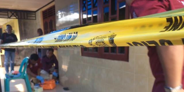 Polisi olah TKP Kompol F Diduga Tembak Mati Adik Ipar