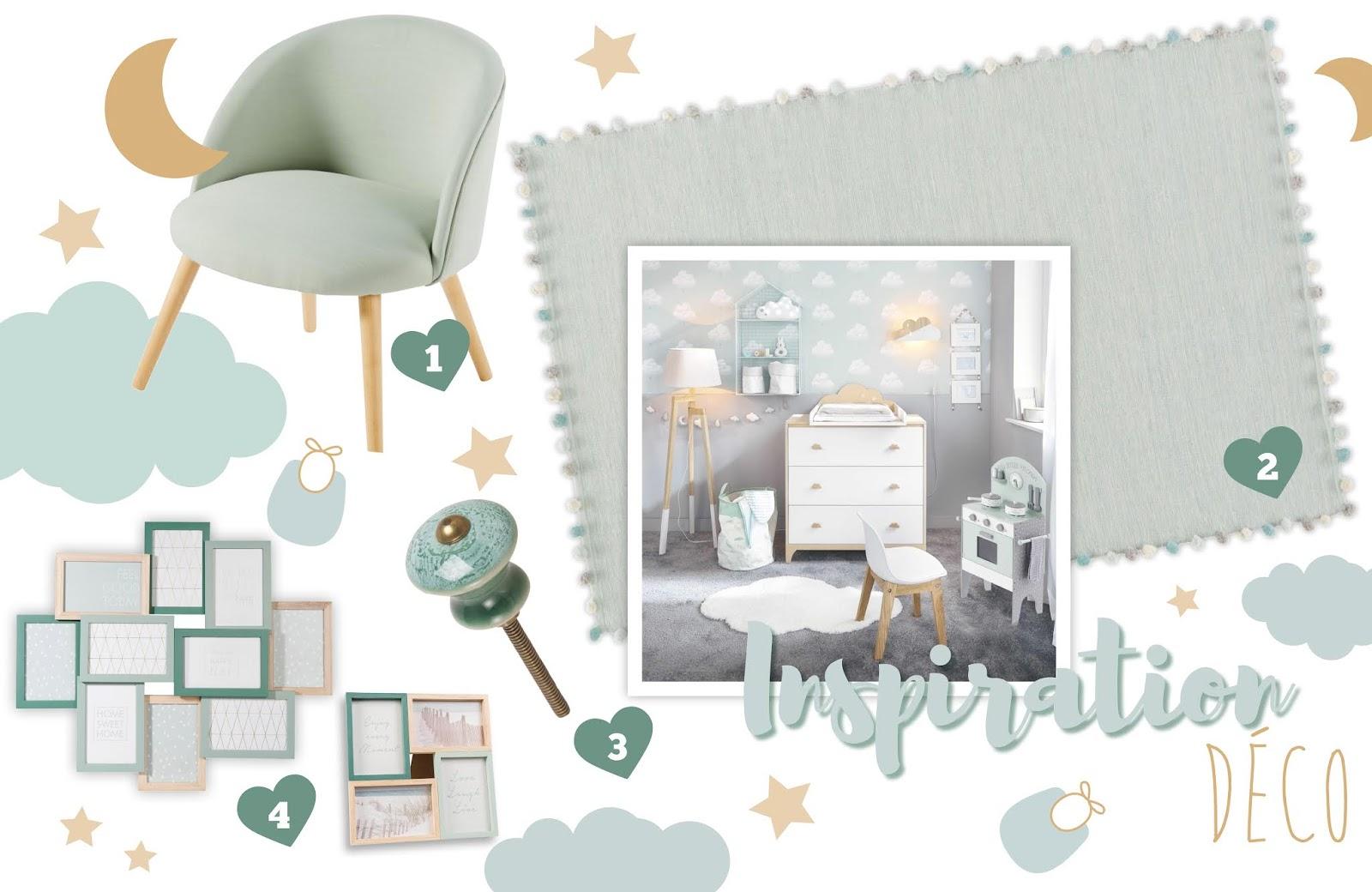 Golden Wendy - Le Blog: Déco : du Mint pour la chambre de bébé !