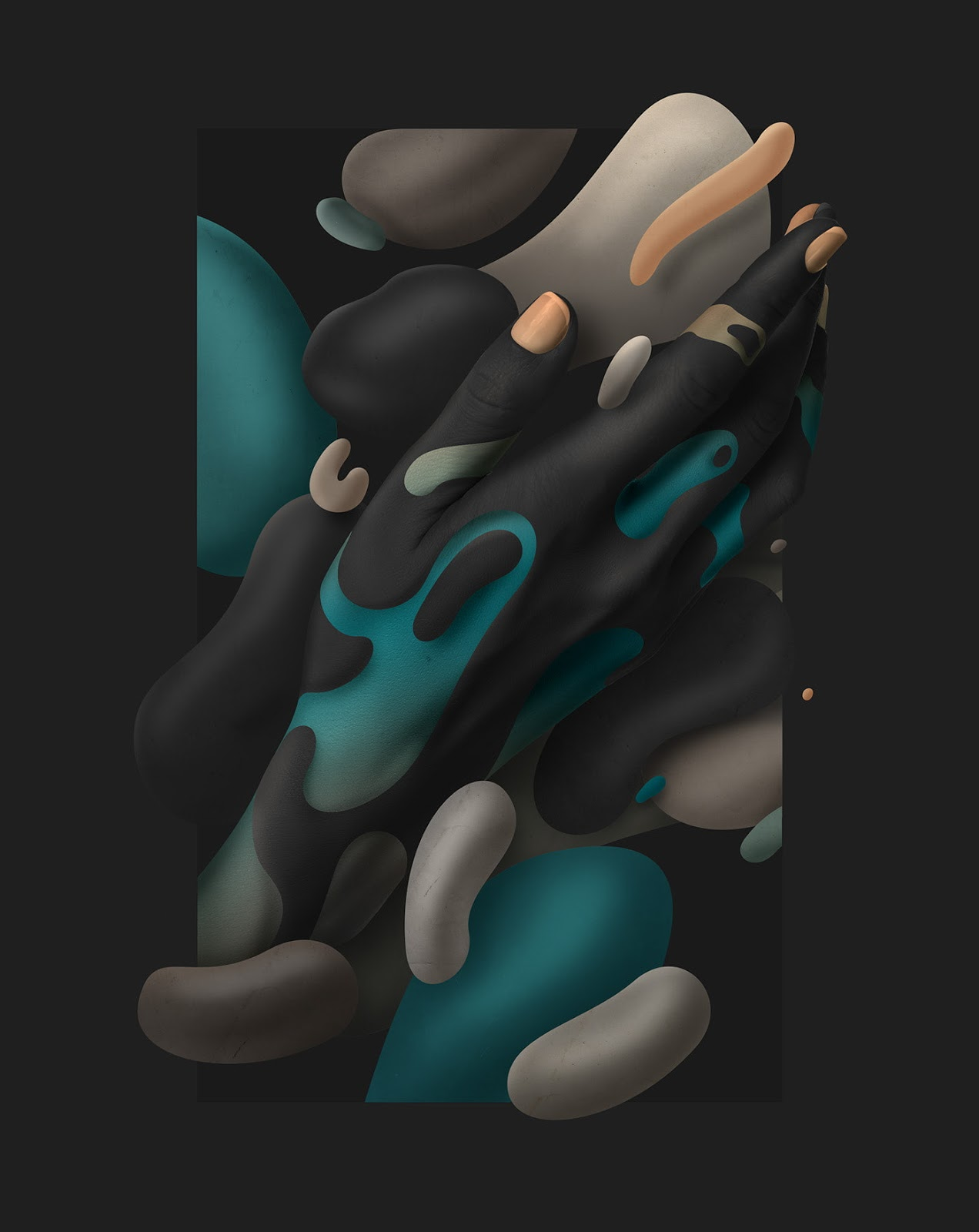 Fluidez-humana-hermosas-ilustraciones-digitales-de-Rik-Oostenbroek