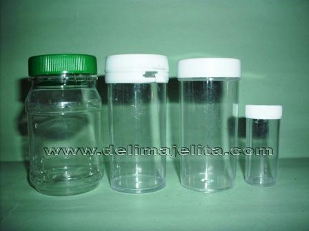 BOTOL PLASTIK TRANSPARENT