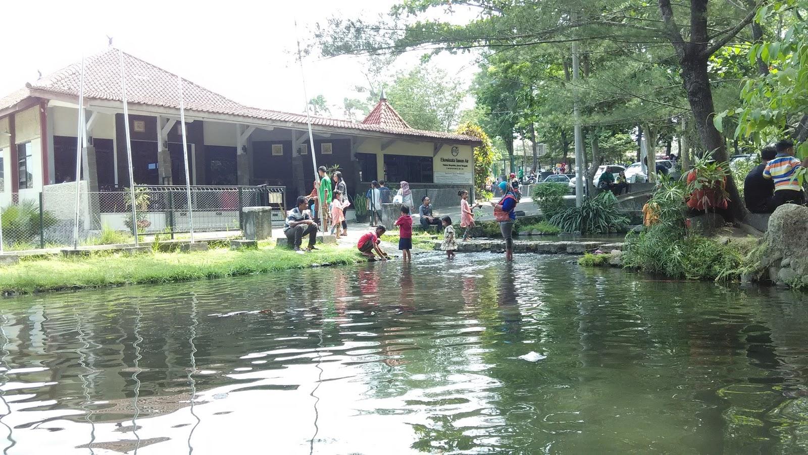 Ekowisata Taman Air : Obyek Wisata Keluarga di Tlatar Boyolali