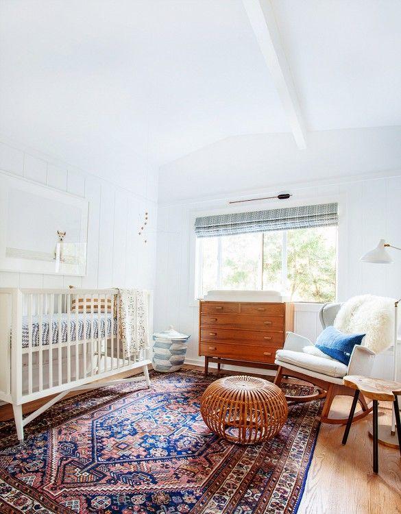 Baby Boy Nursery Inspiration Stripes