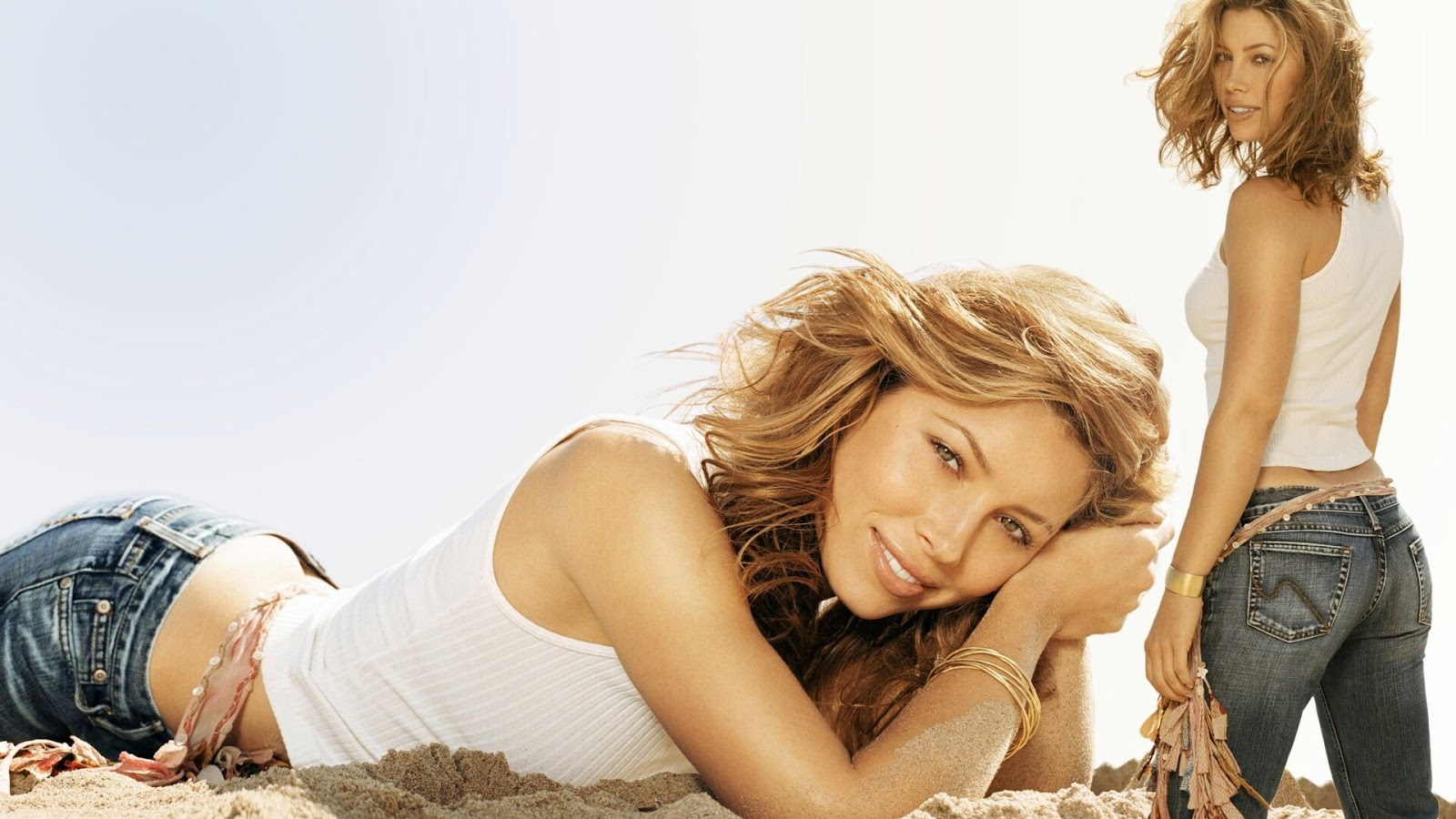 jessica biel background - photo #13
