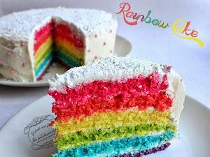 Recette du rainbow cake (ou gâteau arc-en-ciel)
