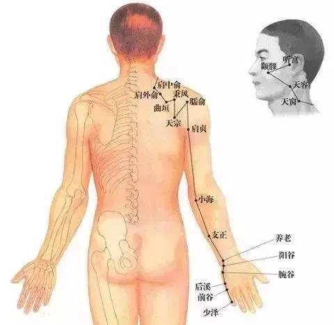 根治頸椎的秘訣:灸通一經三穴解開閻王鎖!(通小腸經、補陽氣)