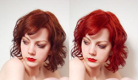 Cara Mengubah Warna Rambut Dengan Photoshop - insanoo.com