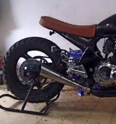 Modifikasi Suzuki Bandit 400 Scrambler