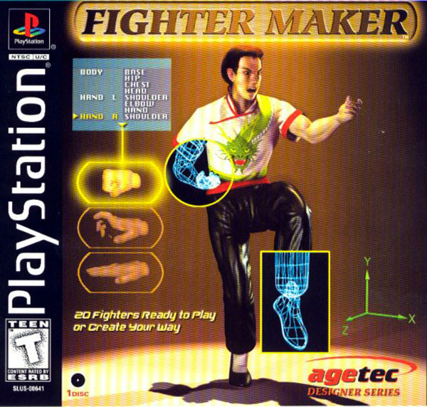 Fighter Maker - PS1 - ISOs Download