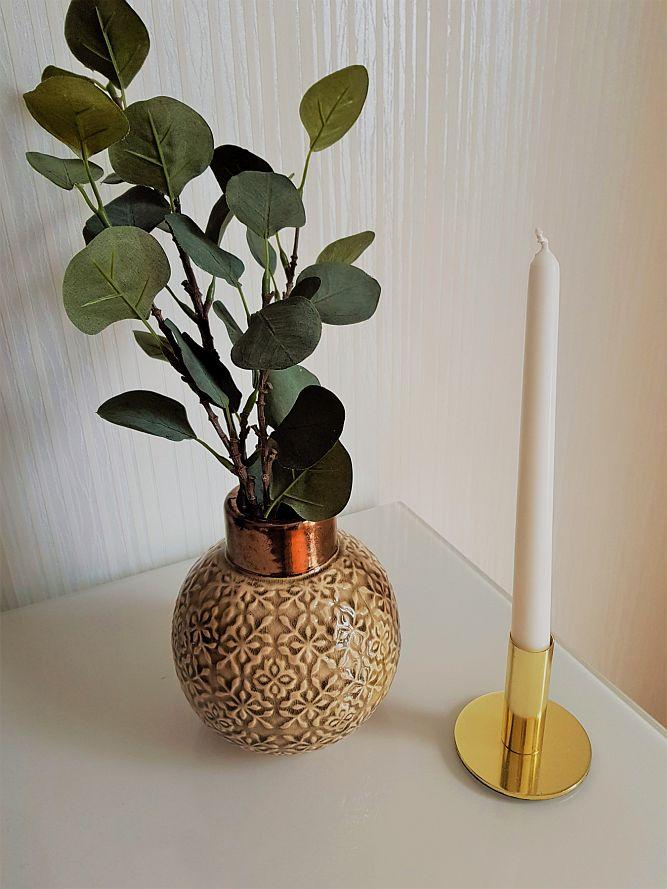 Любимите ми неща през февруари 2019 -  за дома - вазичка inochfinn, jysk свещник, ikea