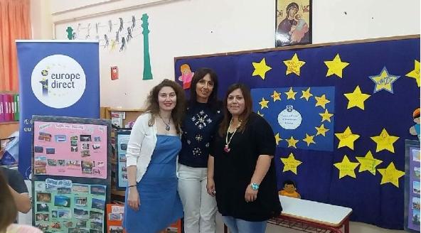 Το EUROPE DIRECT Περιφέρειας Πελοποννήσου στη γιορτή του 9ο Νηπιαγωγείου Τρίπολης με θέμα την «ΕΥΡΩΠΗ»!