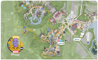 DLP Magic Run 2018 parcours 5K