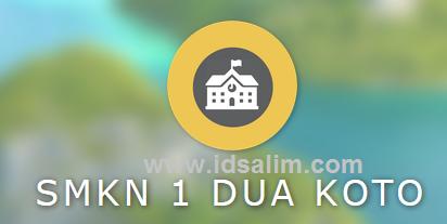 SMK N 1 Duo Koto Kabupaten Pasaman