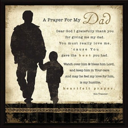 Prayer Image For Father