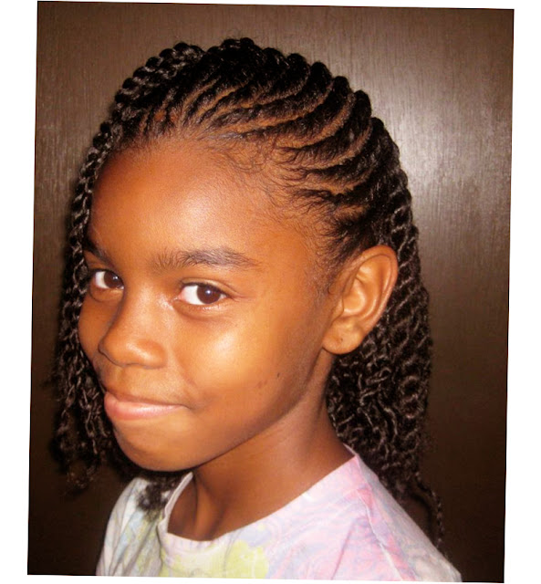 Kids African American Hairstyles Picture