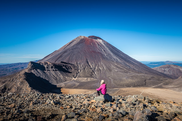 Views to die for Tongariro Crossing