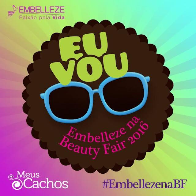 Cinderela na Beauty Fair e Embelleze eu vou!!