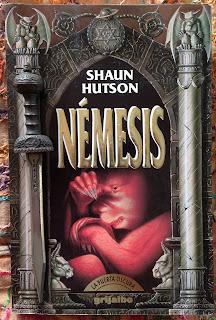 Portada del libro Némesis, de Shaun Hutson