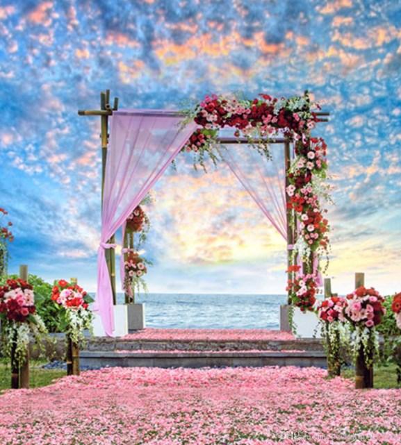 background pemandangan romantis
