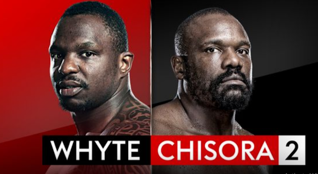 When & Where Dillian White and Derek Chisora Live Fight