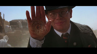 Raiders of the Lost Ark Toht burned hand