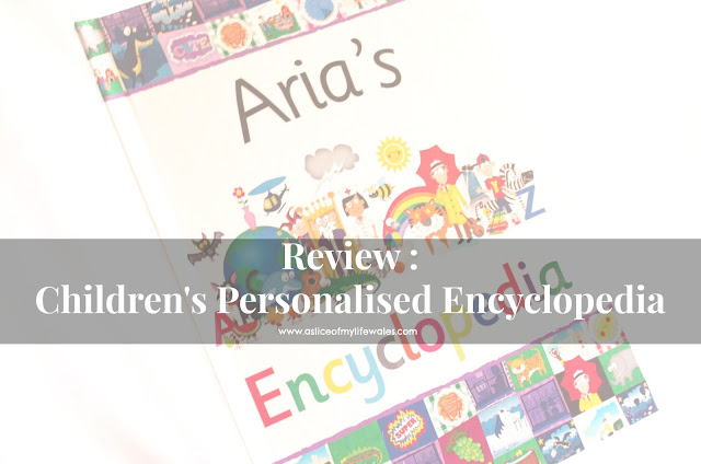 blog review of children's personalised encyclopedia