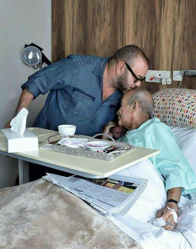 Mohammed VI rend visite à un ancien opposant à son père Feu Hassan 2.
