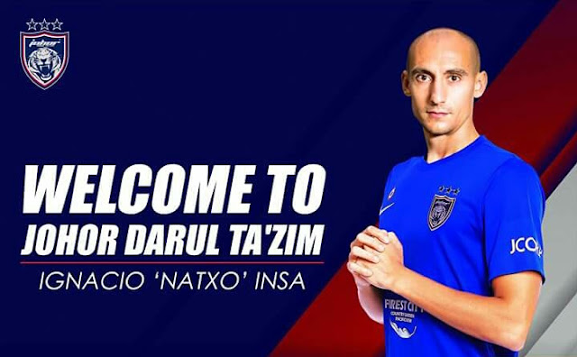Natxo Insa Sah Ke Johor Darul Tazim!