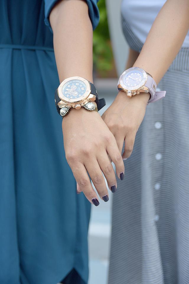 Wearing: Watch/Reloj: Kyboe Bag/Bolso: Michael Kors Skirt Overall-Top: LightInTheBox Boots/Botines: Lord & Taylor-Kyboe NYFW 2016