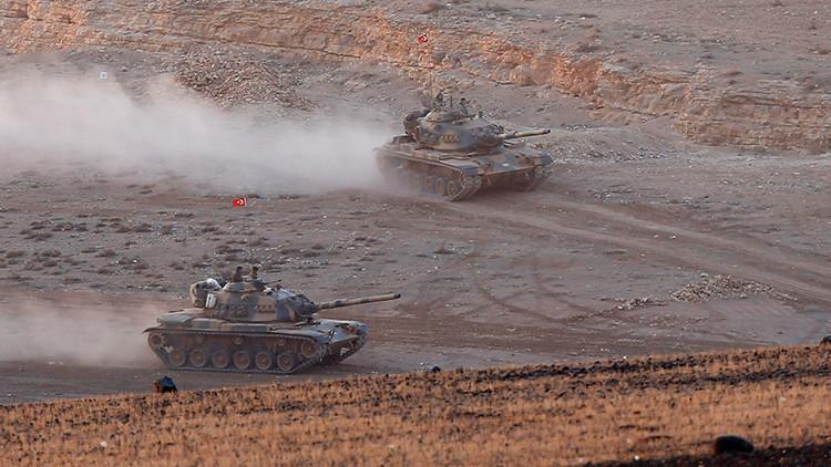 EN VIVO Una decena de tanques turcos entran en Siria