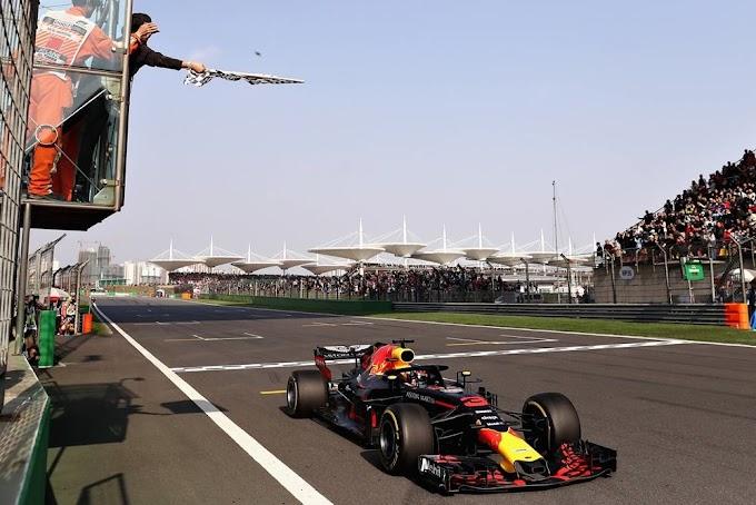 Daniel Ricciardo logró un inesperado triunfo en el Gran Premio de China