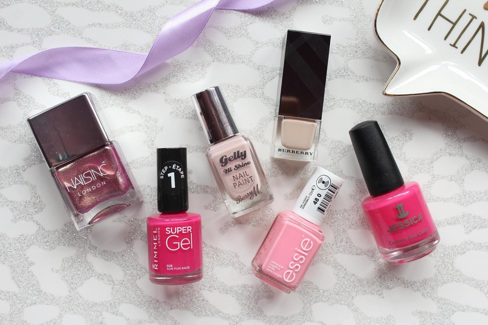 Pink Nail Top Picks