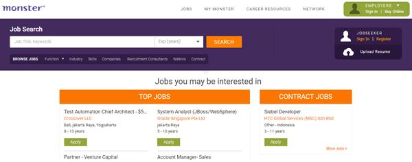 5 Situs Untuk Mendapatkan Informasi Lowongan Kerja 2