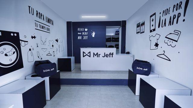 mr jeff app de lavado a domicilio