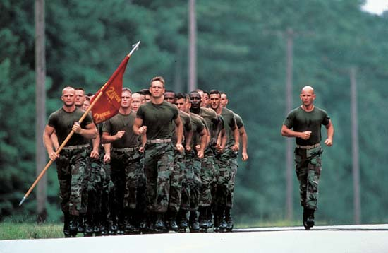 Frugal fitness losing weight training for marine corps enlistment - Officer training school marines ...