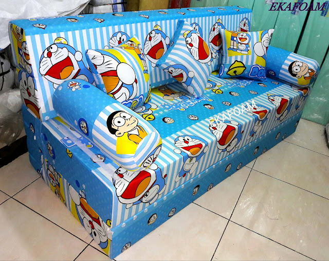 Sofa bed inoac 2017 doraemon garis