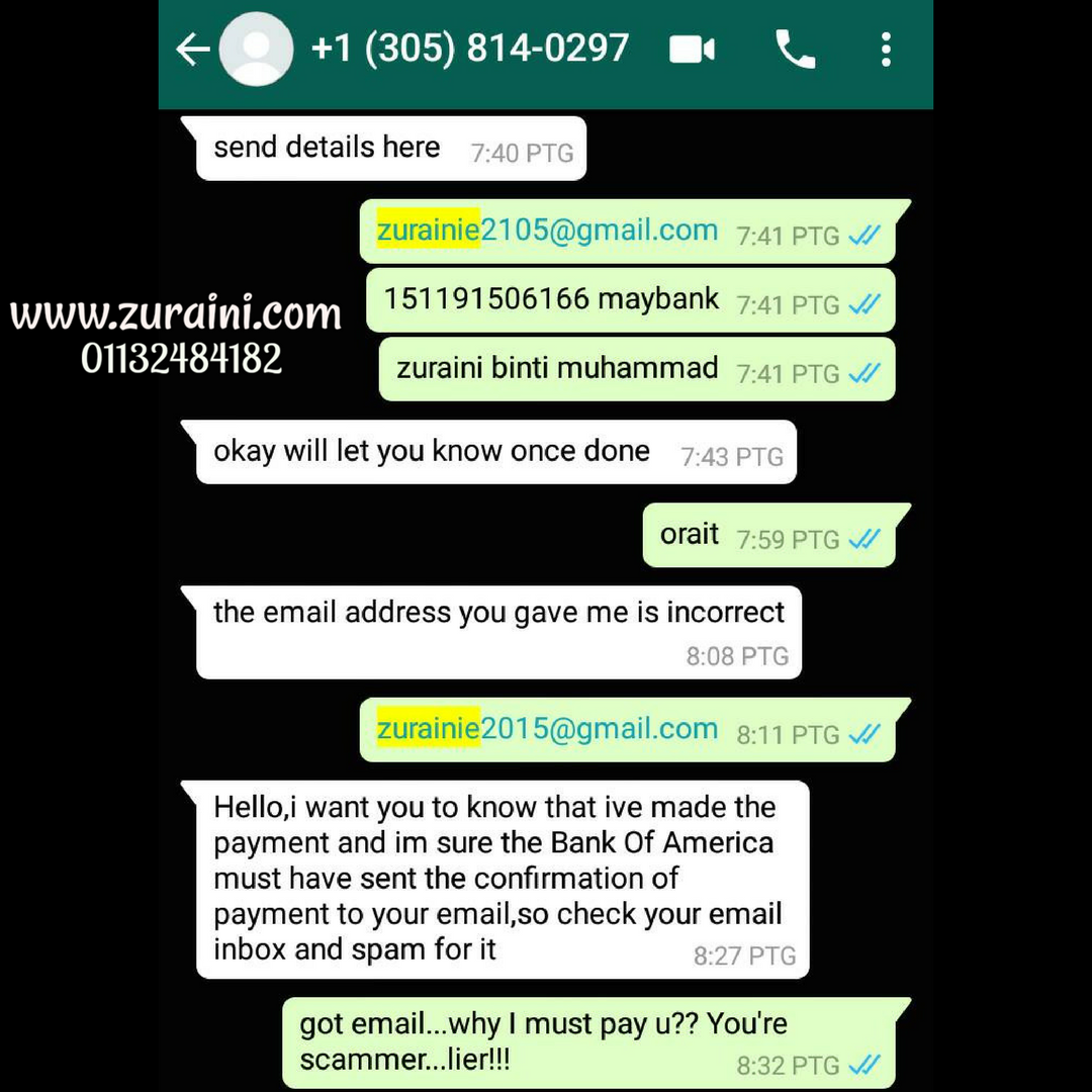 MODUS OPERANDI PENIPU ONLINE - PENIAGA ONLINE WAJIB AMBIL TAHU